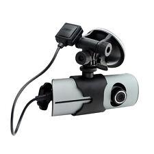 """2.7"""" Dual Lens Car DVR Auto Crash CAM HD Camera blackbox Video Recorder G-sensor"""