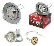 Lámpara de Techo Lisa 230V High Power Cob LED 3W=25W Lámpara GU10