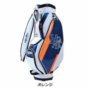 HONMA Golf Men Cart Caddy Bag D1 9 47 inch 2.9kg White Orange CB-12114 Japanese