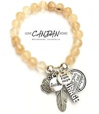 Whats For You Will Not Pass You Courage Love Faith Hope Inspirational Bracelet