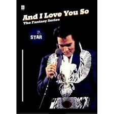 ELVIS PRESLEY - AND I LOVE YOU SO - Deluxe digipack NTSC DVD  NEW RARE
