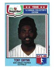 1988 Chef Boyardee Tony Gwynn 1st Annual Collector's Edition #6 Baseball Card