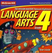Language Arts Grade 4 The Mission Masters Network Nightmare Pc Mac Cd words game