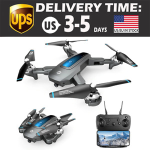 Holy Stone HS240 4K Drone HD Camera GPS WIFI FPV Foldable Quadcopter 2021 USA