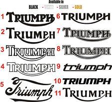 Triumph tank badge stickers