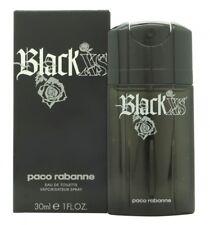 PACO RABANNE BLACK XS EAU DE TOILETTE 30ML SPRAY - MEN'S FOR HIM. NEW