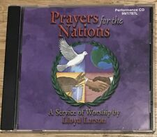 Prayers For the Nations cd A Service of Worship by Lloyd Larson PERFORMANCE CD