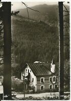 Ansichtskarte Bayerisch Eisenstein - Pension Hintersteinhütte - schwarz/weiß