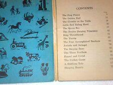 1963 Vintage Antique Grimm'S Fairy Tales To Read Aloud - Wonder Books - 2037