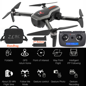SG906 Pro GPS FPV RC Drone Professionale 2-Telecamere 4K⭐⭐ 2-Batteria⚡⚡ J3I0