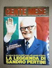 GENTE MESE # N.2/BIS MARZO 1990 # ANNO V # Rusconi Editore - Sandro Pertini