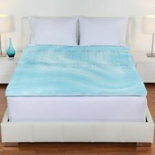 Full Size Orthopedic Mattress Topper Cooling Gel Foam Pad Bed Cushion Cover Firm