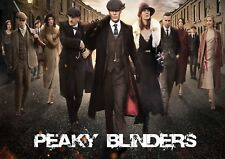 PEAKY BLINDERS TV SERIES GLOSSY WALL ART POSTER PRINT (A1 - A5 SIZES)