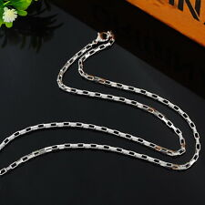 1PC Fashion Stainless Steel Box Chain Polishing Necklace 51.5cm