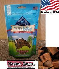 NATURAL Blue Buffalo Dog Training Treats Healthy Beef Bits MADE IN USA BULK