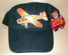 HAT WITH J3 CUB AIRPLANE  LOW PROFILE STYLE BLACK PAIR