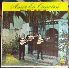 """Amor En Cancion Con El Trio """"Los Aztecas"""" Discos Corona DCL 1030 FAST SHIPPING!"""