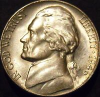 1946-S Jefferson Nickel Choice/Gem BU Uncirculated
