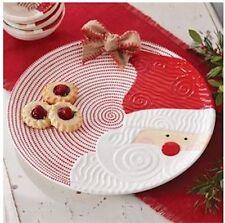 """Ceramic """"Santa Platter"""" by Mud Pie"""