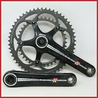 NOS CAMPAGNOLO SUPER RECORD 11S SPEED CRANKSET 172.5mm 53/39T CARBON LIGHTWEIGHT