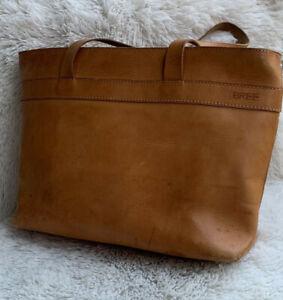BREE Tasche Natur Ledertasche / Ledershopper Vintage Groß