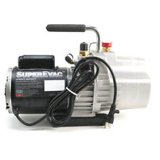 Yellow Jacket 93589 SuperEvac 8 CFM Two-Stage Vacuum Pump, 100 VAC, 50 Hz