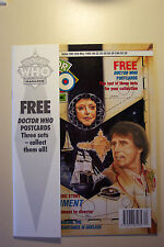 DOCTOR WHO MAGAZINE ISSUE #186 13TH MAY 1992 FREE DOCTOR WHO POSTCARDS