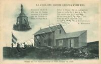 Cartolina di Crespano del Grappa, rifugio Club Alpino Bassanese - Treviso