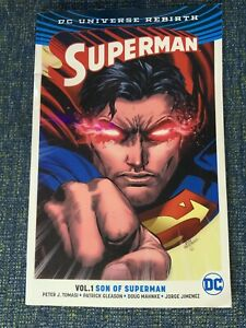 Superman Rebirth Volume 1 Son of Superman - DC Trade Paperback Graphic Novel TPB