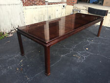Henredon Furniture Folio 16 Chinese Asian Influenced Style Dining Room Table