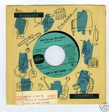 45 RPM JUKE BOX EDITH PIAF THEO SARAPO A QUOI CA SERT L'AMOUR