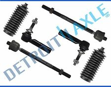 Inner & Outer Tie Rod Ends + Boots for 2003 2004 2005 2006 Ford Expedition