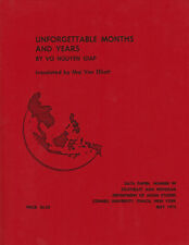 Vietnamese Revolution UNFORGETTABLE MONTHS AND YEAR by GENERAL VO NGUYEN GIAP