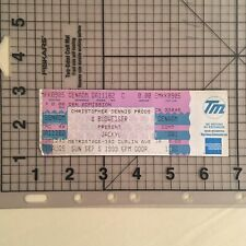 JACKYL - Vintage Concert Tickets from Metro Stage 382 Dublin Ave. - Rock Music