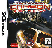 NEED FOR SPEED CARBON OWN CITY  ( JEUX NINTENDO DS ) COMPLET / CIB