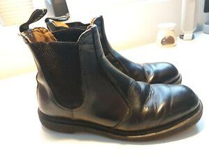 Men's Original DR. MARTENS boots Bouncy Sole Leather Industrial Air Wair 42...