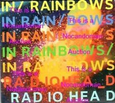 NEW VERY RARE PROMO ONLY CD RADIOHEAD IN RAINBOWS TBA 001 FREE SHIPPING IN USA