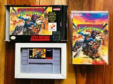 Sunset Riders Super Nintendo SNES Konami CIB Complete Box Manual BEAUTIFUL