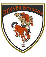 Denver Broncos Vintage AFL Logo - 8x10 Color Photo