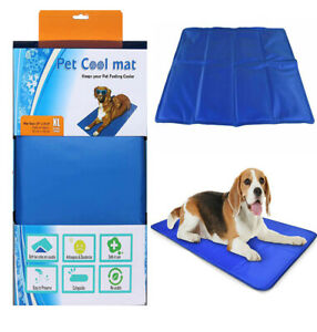 X LARGE SELF COOLING COOL GEL MAT PET DOG CAT HEAT RELIEF NON-TOXIC SUMMER XL