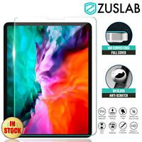 "For Apple iPad Pro 12.9"" 11"" 2nd 3rd 4th Gen Tempered Glass Screen Protector"