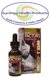 Pure Solutions Pure Factors Ultimate PRO IGF T 1100 1 oz. - 37.6mg/ml + Tribulus
