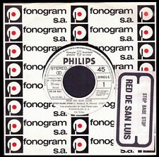 "RED DE SAN LUIS - SPAIN 7"" PHILIPS 1980 - STOP BABE STOP / MULTIPLICATION"