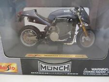 Maisto Munch Mammut 2000 Steel Blue Nib 1:18 scale (4)