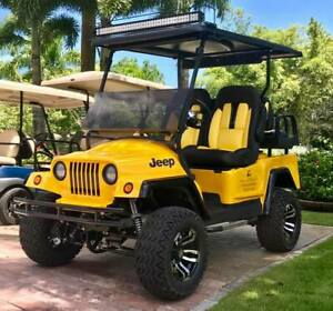 JEEP GOLF CART BODY front only