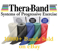 Thera-band Exercise Resistance Physio Band Genuine Theraband 1.5m Medium to Max
