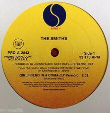 "THE SMITHS - Girlfriend In A Coma - Rare USA Sire Promo 12"" / Vinyl Record"