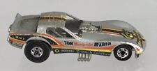 Hot Wheels Tom Mongoose McEwen Race Car Series Silver Corvette English Leather