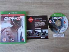 MotoGP Moto GP 15  Xbox One - 1st Class FREE UK POSTAGE