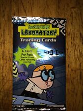 Dexter's Laboratory Trading cards Edition `1 sealed pack